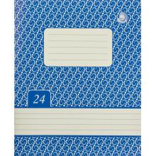 Тетрадь 24 листа линия Жемчужина Тетрада фоновая обложка (20) (480)