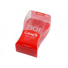 Наушники вставные Remax Candy 301 гарнитура red, микрофон