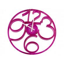 Годинник настінний Rikon D Pink/P №9951