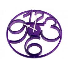 Годинник настінний Rikon Violet/P №9951