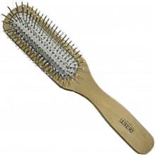 Щетка массажная для волос Luxury деревянная HB-03-03