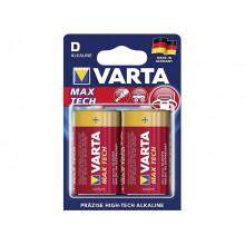 Батарейки Varta maxi tech LR-20/блістер 2 шт (10)
