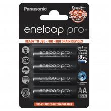 Акумулятори Panasonic Eneloop Ni-Mh (R-06, 2500 mAh) блістер 4 шт (BK-3HCDE/4BE)