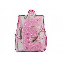 Брелок буква Е розовый Yes (50) 554257