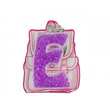 Брелок буква Е фиолетовый Yes (50) 554259