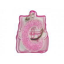 Брелок буква С розовый Yes (50) 554276