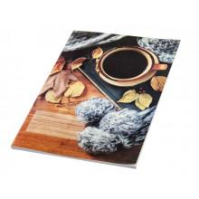 Книга-канцелярская А4 48 листов клетка офсет мягкая обложка Фолдер (10)