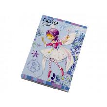 Блокнот Рюкзачок А7 48 листов клетка картонная обложка (20) (40) №ЗК-29