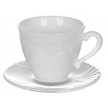 Сервиз чайный стеклянный Luminarc. Cadix 12 предметов 6 чашек 220мл, 6 блюдец (8) №37784/77840
