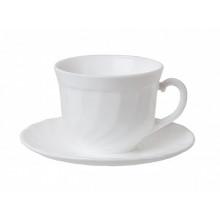 """Сервіз чайний скло 12предм. (6чаш. 220мл+6бл.) """"Luminarc.Trianon"""" №E8845/19479(4)"""