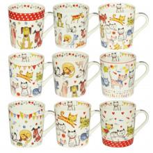 Чашка керамічна 280 мл Кошенята і цуценята фарби S&T (9) (36) S&T 040-01-81