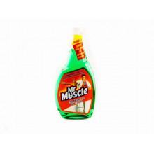 "Средство для мытья стекол ""Мистер Мускул"" 0,5 л (запаска) со спиртом 1020"