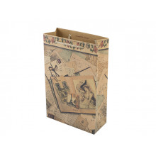 Пакет подарунковий крафт еко (10) ML-1