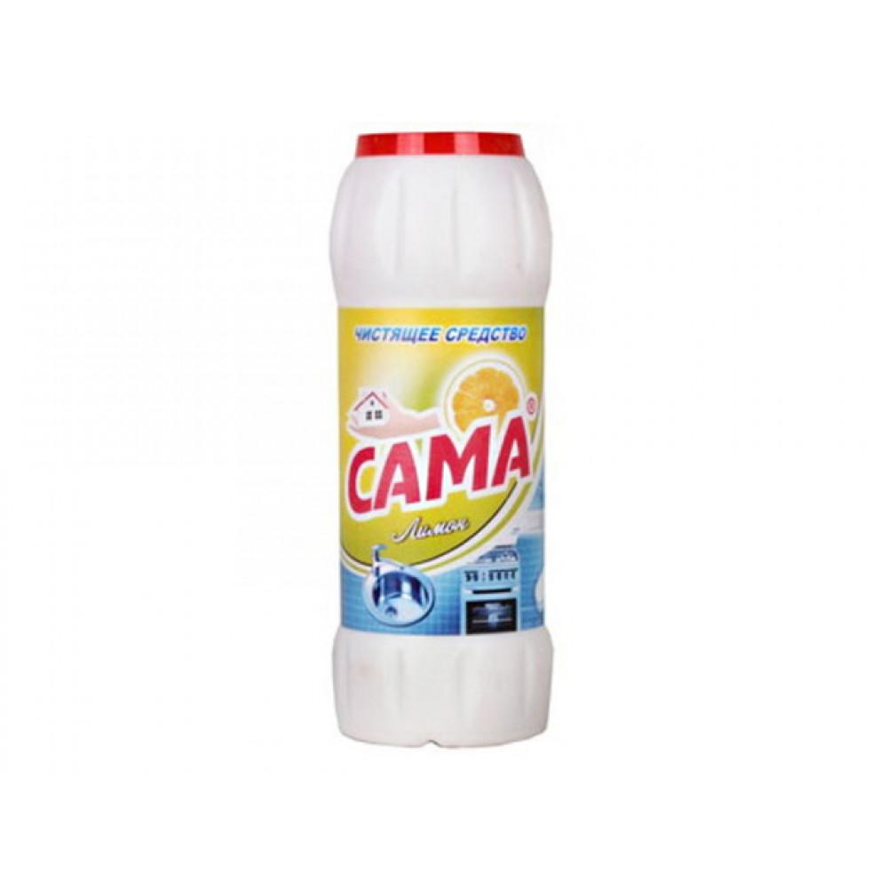 """Чистящий порошок для кухни и ванной 500 г """"Сама"""" OV Лимон (20)"""