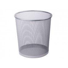 Корзина для паперу Axent металева срібляста №2119-03