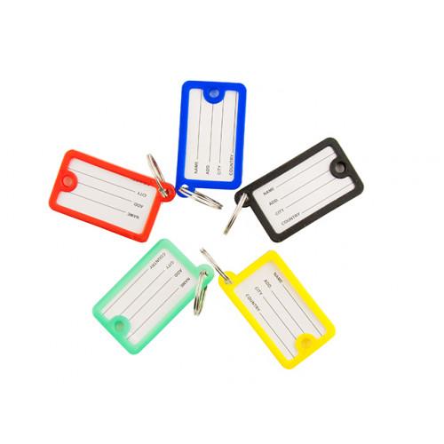 Брелок-идентификатор для ключей пластиковый E41645 (10) (250)