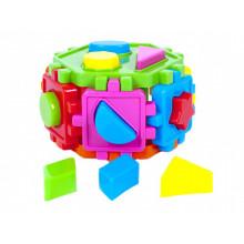 Куб-сортер Kinder Way геометрические фигуры (15) №50-103