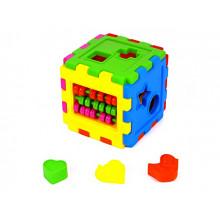 Куб-сортер Kinder Way со счетами (18) №50-201