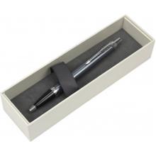 Ручка шариковая Parker IM Light Blue Grey хром №22532
