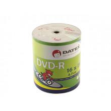 DVD-R 16х4.7Gb/120min Datex bulk (100)