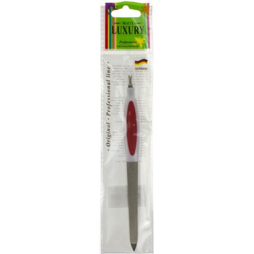Пилочка для ногтей Luxury 15 см с триммером №BF-24/2222