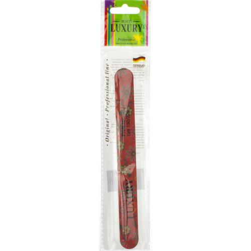 Пилочка для ногтей Luxury 150/220 цветная №ВМ-05