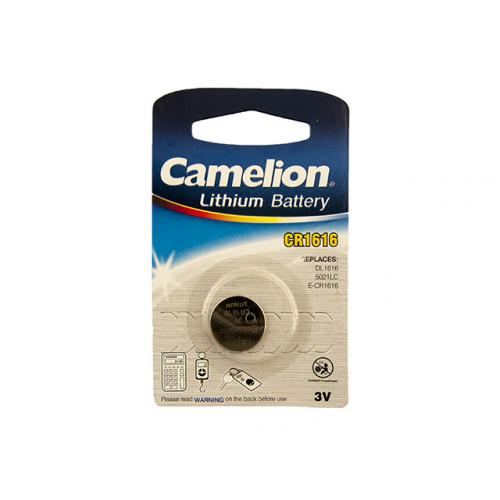 Батарейка Camelion CR1616/1bl (10)