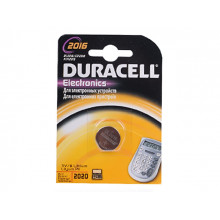 Батарейка Duracell CR2016/1bl (10)