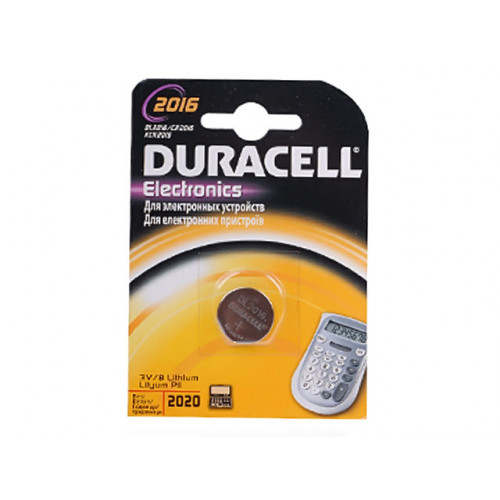 Батарейка Duracell CR2016/1bl
