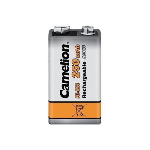 Аккумулятор Camelion Ni-Mh (6F22,250 mAh) блистер 1 шт (1) (12)