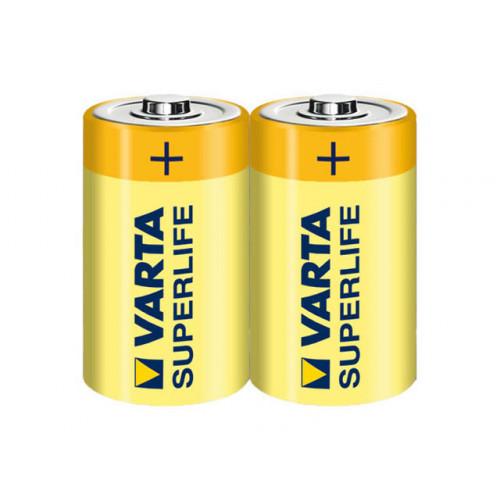 Батарейки Varta Superlife R-14 блистер 2 шт (12) (60)