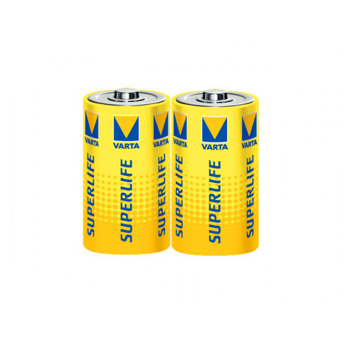Батарейки Varta Superlife R-20 пленка 2 шт (12) (60)