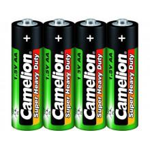Батарейки Camelion green R-06 плівка 4 шт (15) (240)
