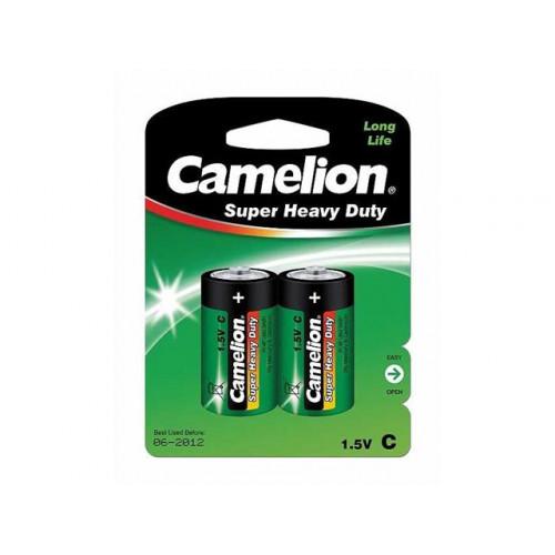 Батарейки Camelion green R-14 блистер 2 шт (6) (144)