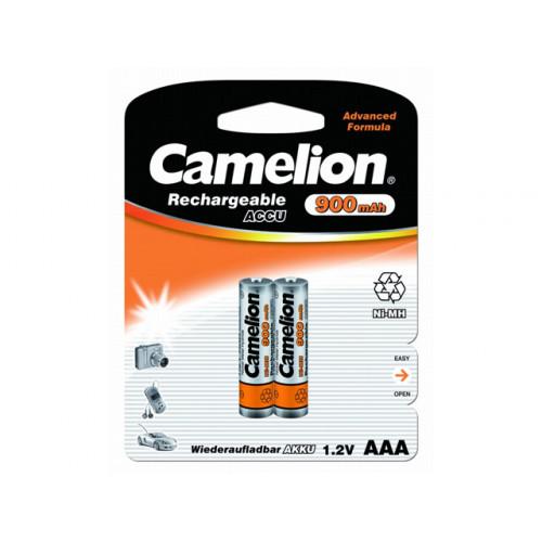 Аккумуляторы Camelion Ni-Mh (R-03, 900 mAh) блистер 2 шт (12)