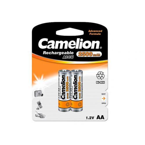 Аккумуляторы Camelion Ni-Mh (R-06, 2500 mAh) блистер 2 шт (12)