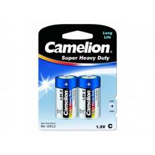 Батарейки Camelion blue R-14 / блистер 2 шт (6) (144)