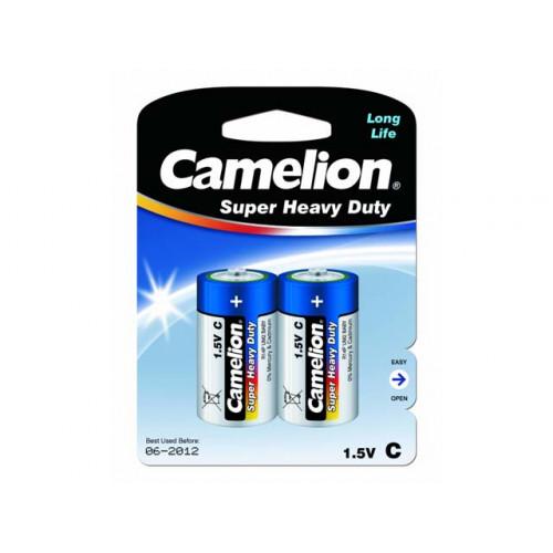 Батарейки Camelion blue R-14 блистер 2 шт (6) (144)