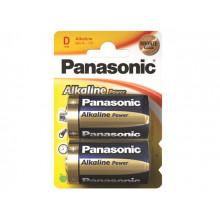 Батарейки Panasonic Alkaline Power LR-20 / блистер 2 шт