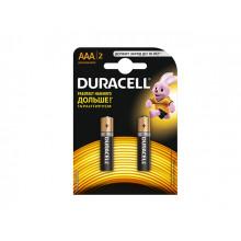 Батарейки Duracell LR-03 / блистер 2 шт (10)