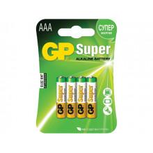 Батарейки GP Super 15A-2UE4 LR-06 блістер 4 шт (10) (80)