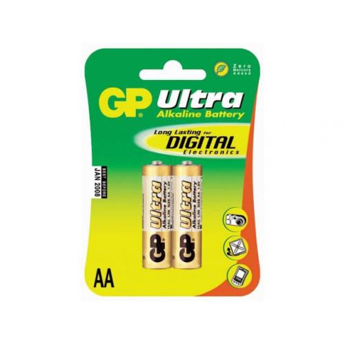 Батарейки GP Ultra GP24AU-2UE2 LR-03 блистер 2 шт (10) (80)