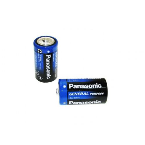 Батарейки Panasonic zinc carbon R-20 пленка 2 шт (12) (144)