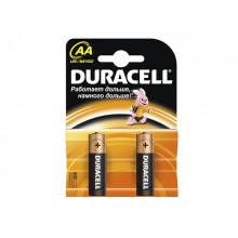 Батарейки Duracell LR-06 блистер 2 шт (20)