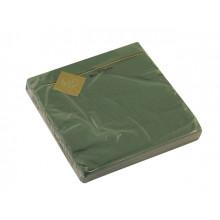 Серветки столові ТМ Luxy 3-х шарові 20 шт зелені (15)