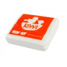 Салфетки столовые Kiwi 40 шт. белые Эко 0033 (20) (100)