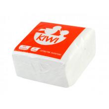 Салфетки столовые Kiwi 100 шт. белые Эко 0026 (40)