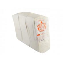 Салфетки столовые Kiwi Барна 900 шт. белые Эко (5)