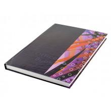 Книга-канцелярська А4 200 аркушів лінія Фолдер офсет тверда обкладинка (10)