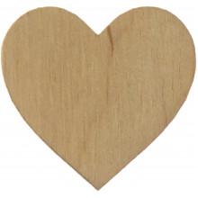 Серце 2,5х3 см МДФ (5)